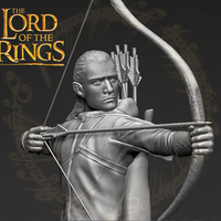 Small Legolas The Lord of the Rings 3D printing ready stl obj 3D Printing 230119