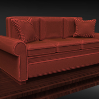 Small Sofa Sculpture 3D Printing 230207