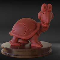 Small Koopa Troopa 3D Printing 230271
