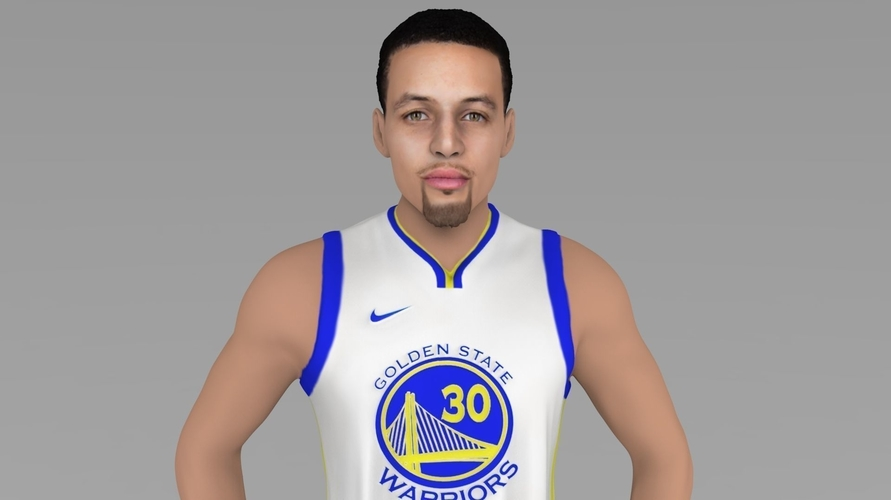 Stephen Curry ready for full color 3D printing 3D Print 230411