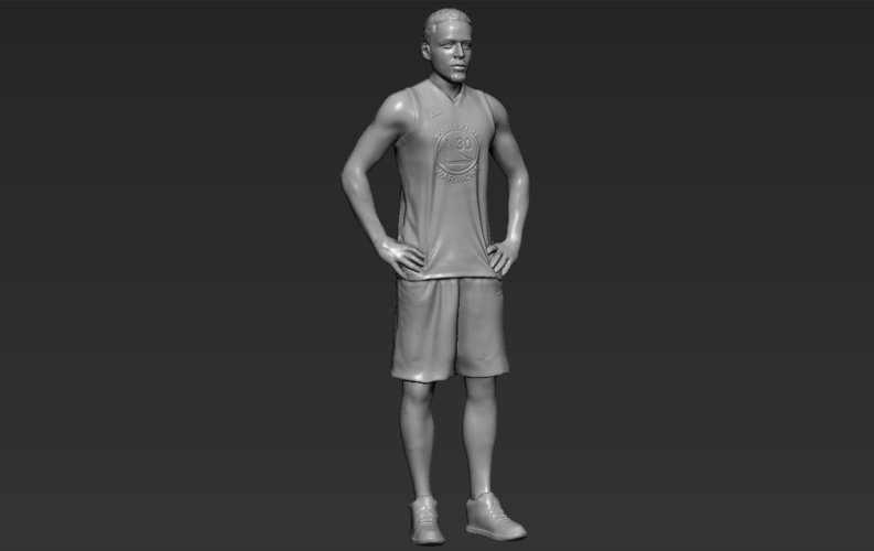 Stephen Curry ready for full color 3D printing 3D Print 230420