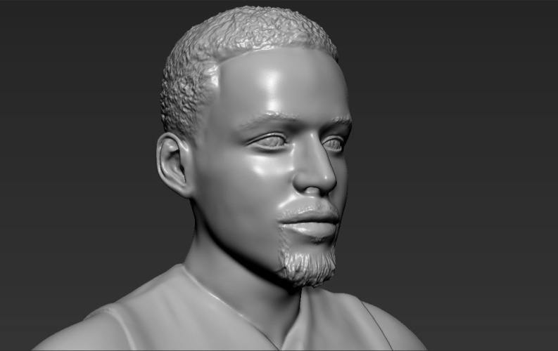 Stephen Curry ready for full color 3D printing 3D Print 230426