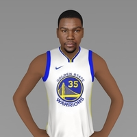 Small Kevin Durant ready for full color 3D printing 3D Printing 230445