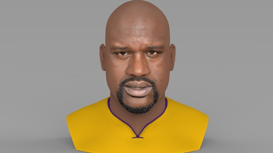 Shaq ONeal bust ready for full color 3D printing 3D Print 230481