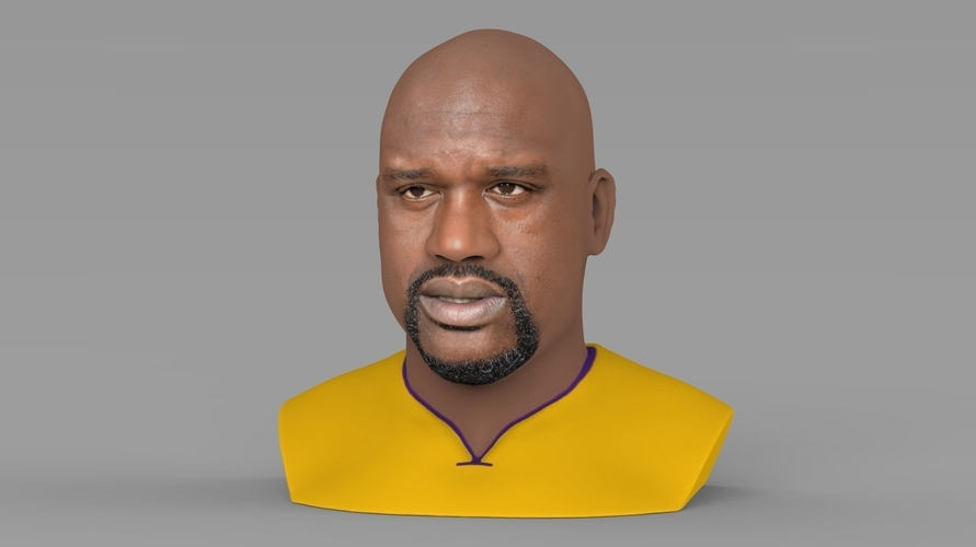 Shaq ONeal bust ready for full color 3D printing 3D Print 230482