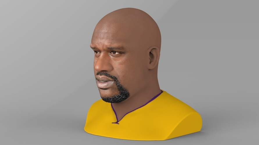 Shaq ONeal bust ready for full color 3D printing 3D Print 230484