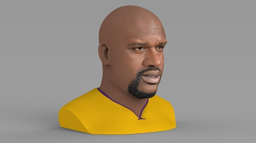 Shaq ONeal bust ready for full color 3D printing 3D Print 230487
