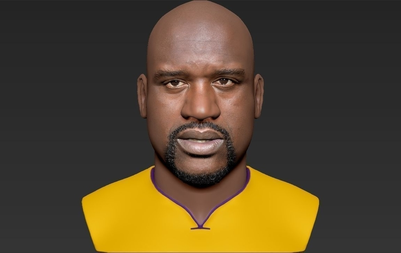 Shaq ONeal bust ready for full color 3D printing 3D Print 230490