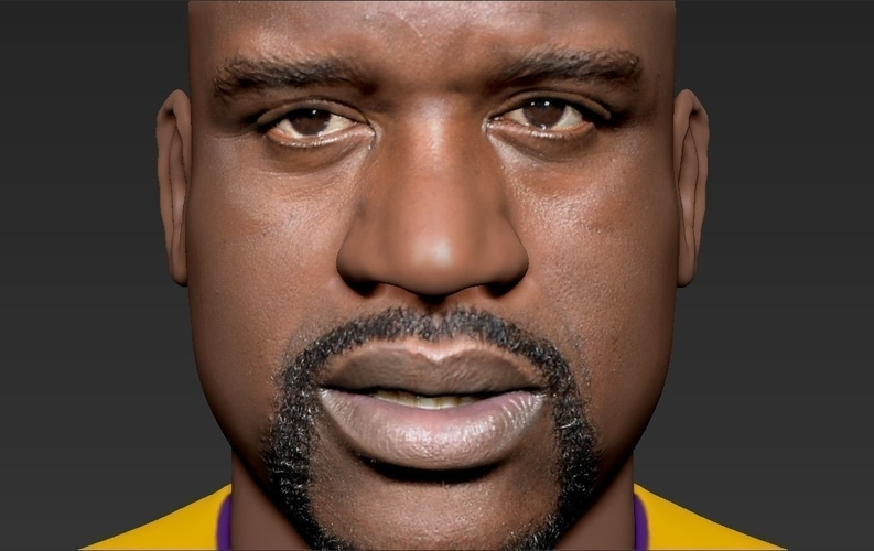 Shaq ONeal bust ready for full color 3D printing 3D Print 230491