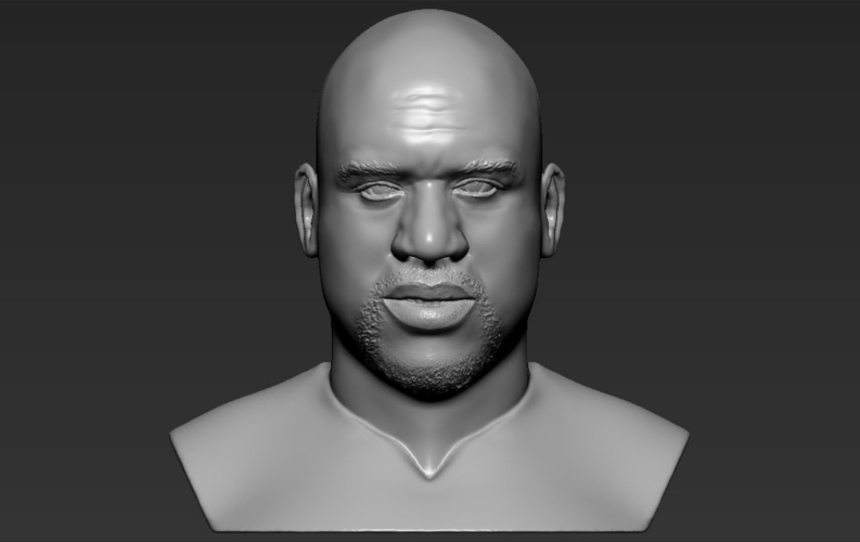 Shaq ONeal bust ready for full color 3D printing 3D Print 230494