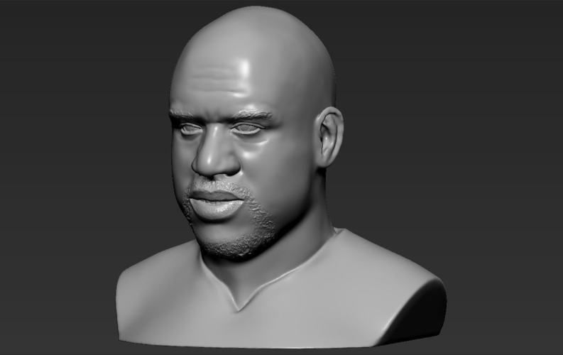 Shaq ONeal bust ready for full color 3D printing 3D Print 230495