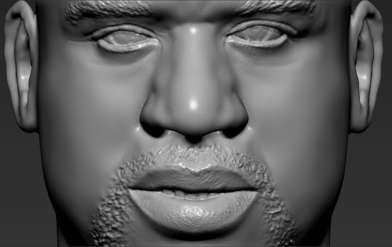 Shaq ONeal bust ready for full color 3D printing 3D Print 230496