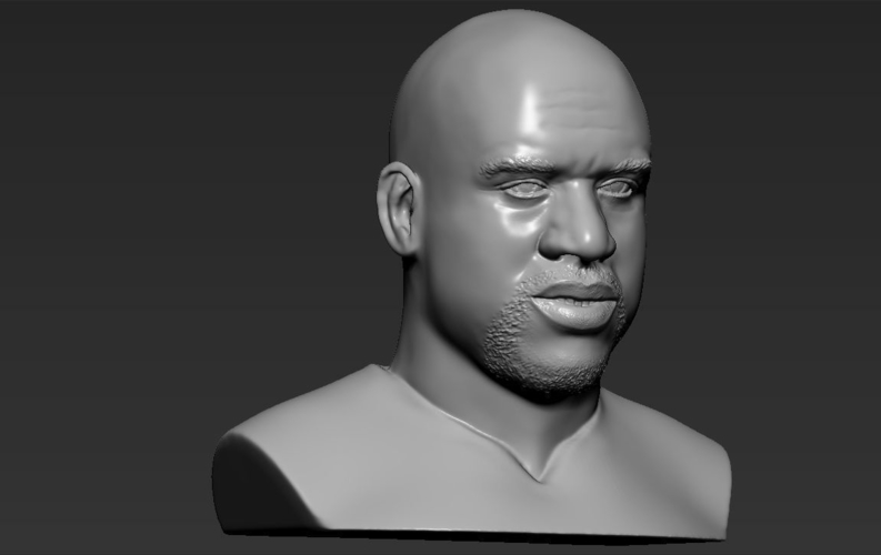 Shaq ONeal bust ready for full color 3D printing 3D Print 230497