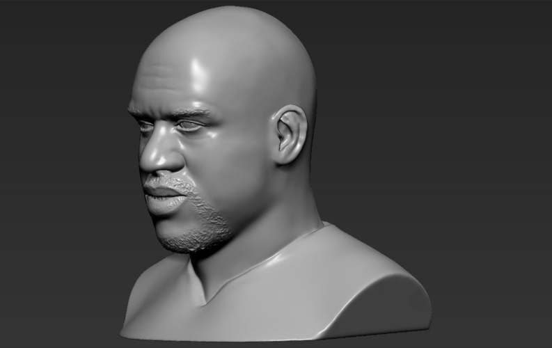 Shaq ONeal bust ready for full color 3D printing 3D Print 230498