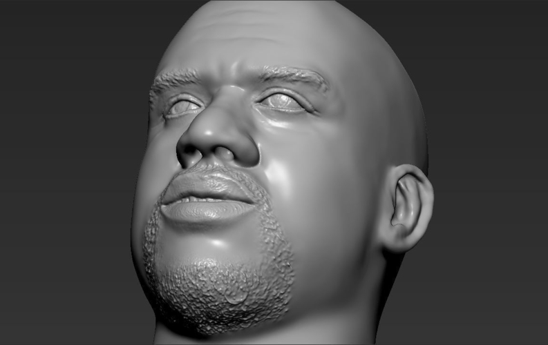 Shaq ONeal bust ready for full color 3D printing 3D Print 230502