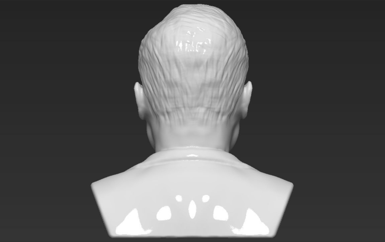 Elon Musk bust ready for full color 3D printing 3D Print 230571
