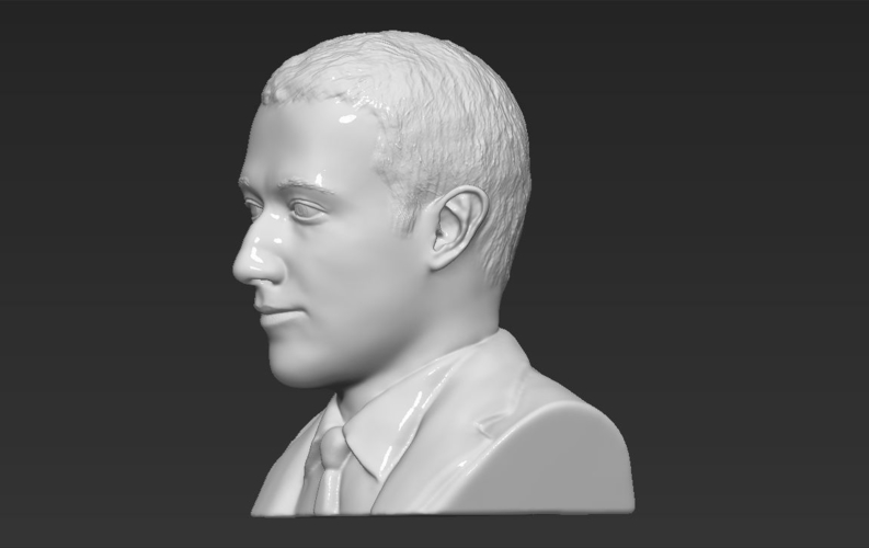 Mark Zuckerberg bust ready for full color 3D printing 3D Print 230593