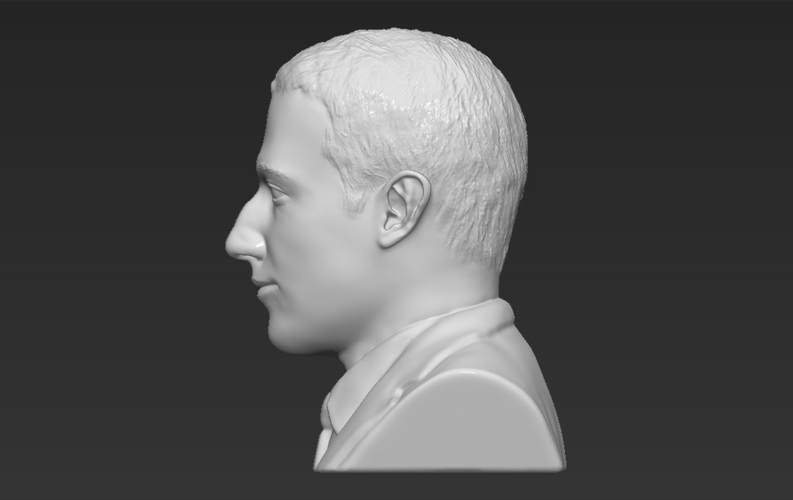 Mark Zuckerberg bust ready for full color 3D printing 3D Print 230594