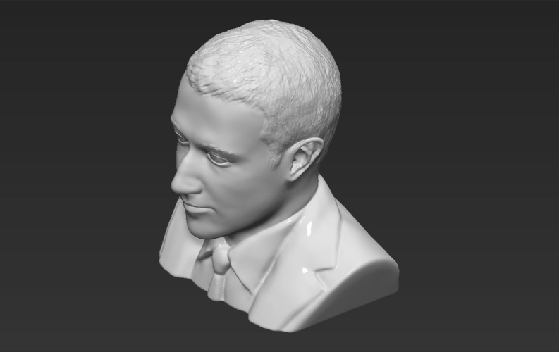 Mark Zuckerberg bust ready for full color 3D printing 3D Print 230596