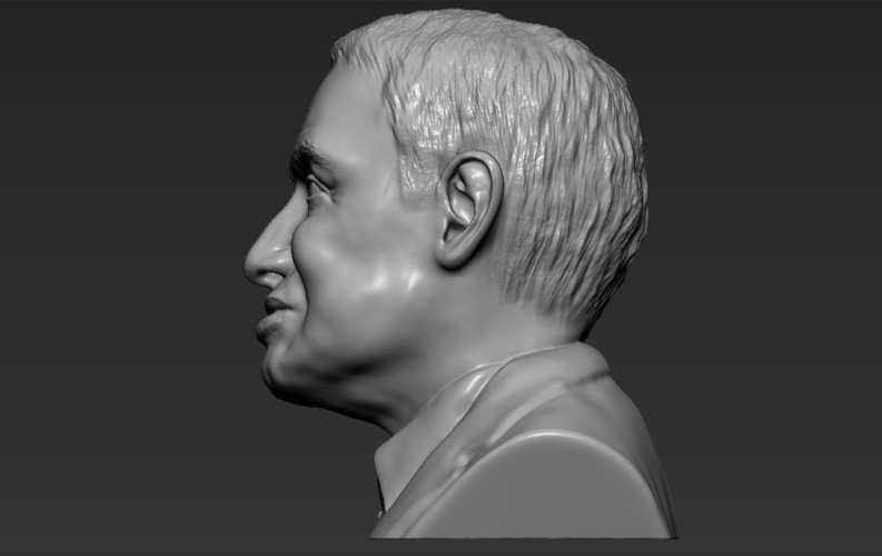 Stephen Hawking bust ready for full color 3D printing 3D Print 230652