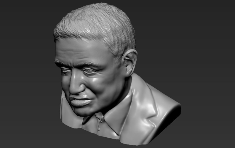 Stephen Hawking bust ready for full color 3D printing 3D Print 230655