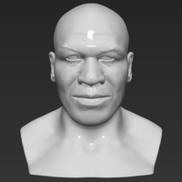 Small Mike Tyson bust 3D printing ready stl obj 3D Printing 230699