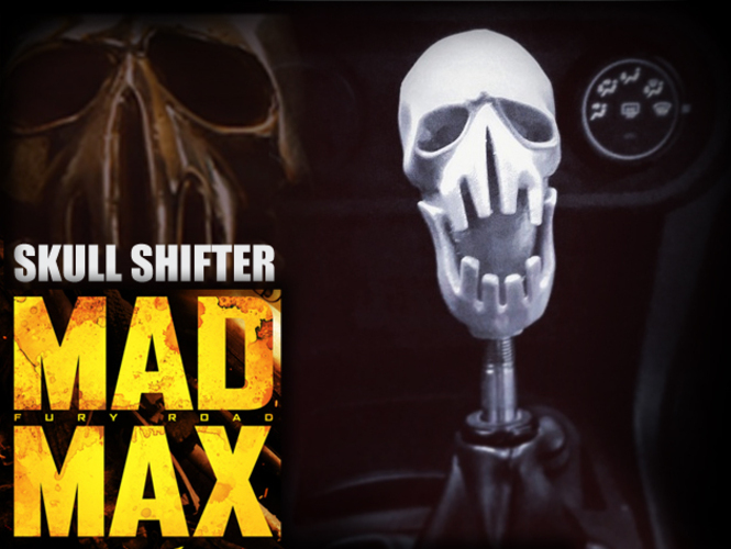 Mad Max Fury Road - Shifter Skull 3D Print 23071