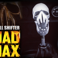 Small Mad Max Fury Road - Shifter Skull 3D Printing 23071