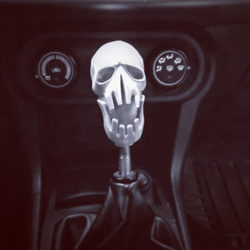 Mad Max Fury Road - Shifter Skull 3D Print 23072