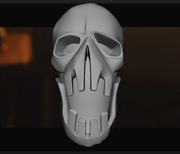 Mad Max Fury Road - Shifter Skull 3D Print 23074