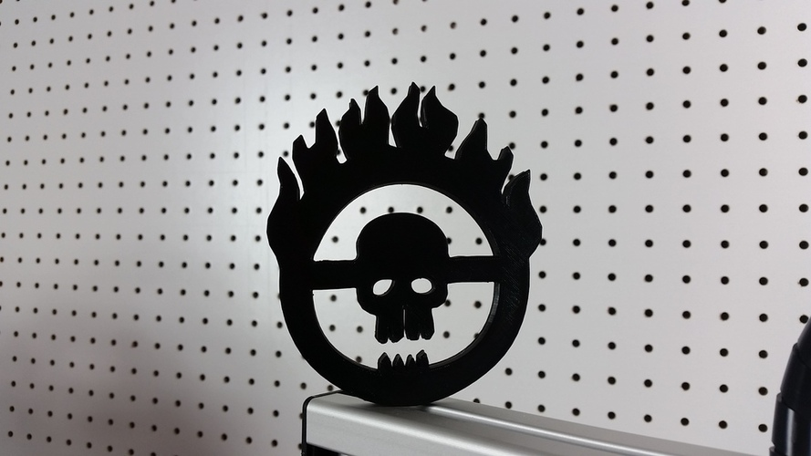 Mad Max - Immortal Joe Skull Logo 3D Print 23076