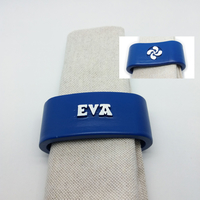Small EVA 3D Napkin Ring with lauburu 3D Printing 230820