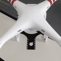 Small DJI Phantom FPV / OSD mount 3D Printing 23083