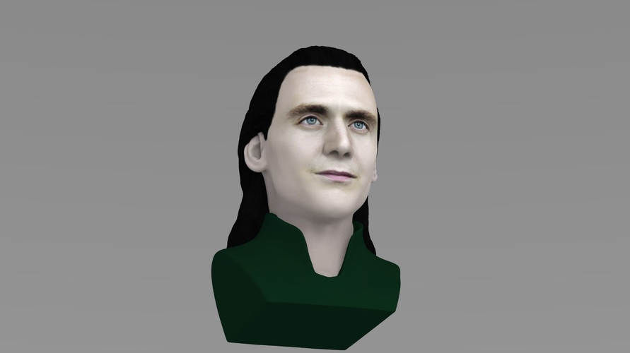 Loki bust ready for full color 3D printing 3D Print 230850