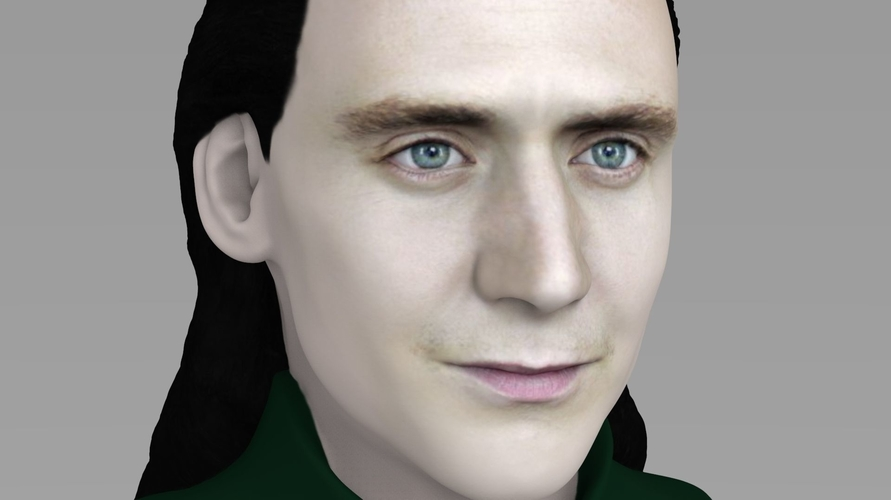 Loki bust ready for full color 3D printing 3D Print 230851