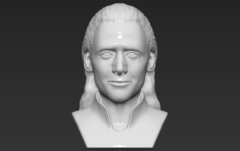 Loki bust ready for full color 3D printing 3D Print 230854