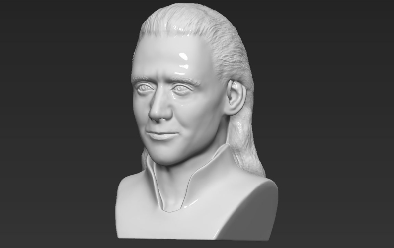 Loki bust ready for full color 3D printing 3D Print 230855