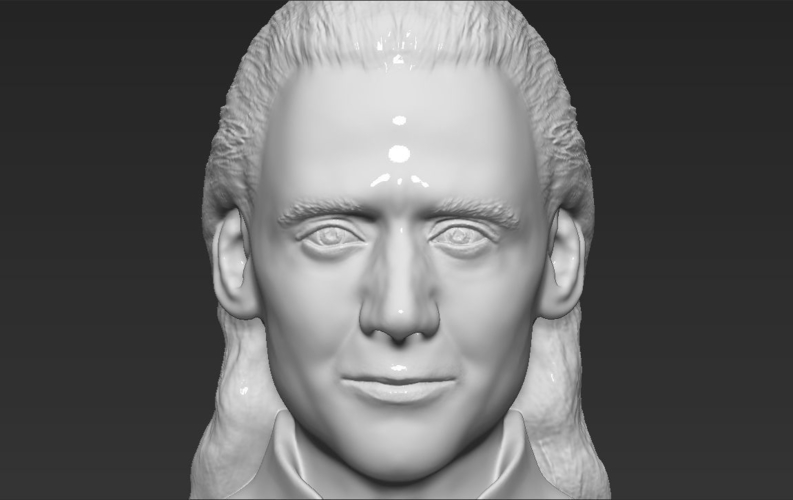 Loki bust ready for full color 3D printing 3D Print 230856