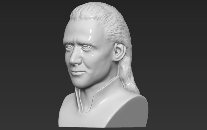 Loki bust ready for full color 3D printing 3D Print 230857