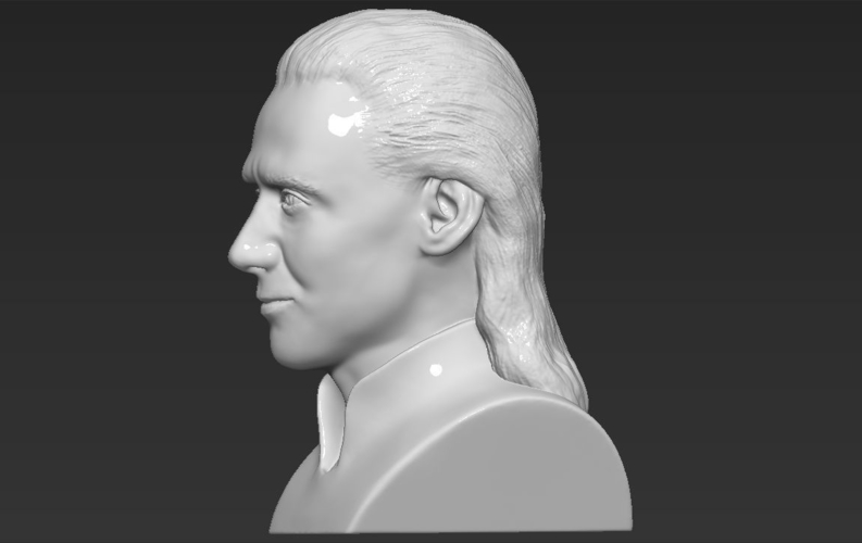 Loki bust ready for full color 3D printing 3D Print 230858