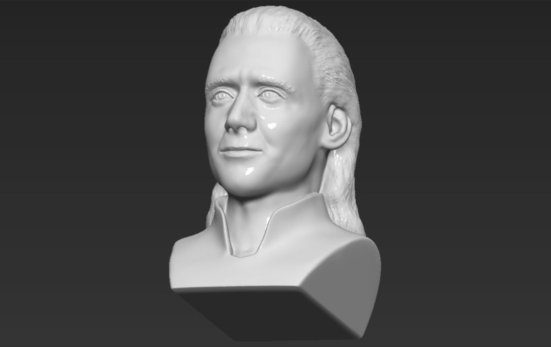 Loki bust ready for full color 3D printing 3D Print 230859
