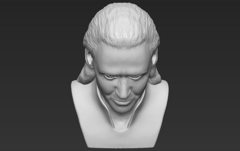 Loki bust ready for full color 3D printing 3D Print 230861
