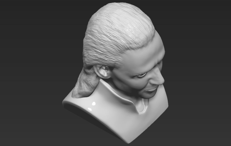 Loki bust ready for full color 3D printing 3D Print 230862