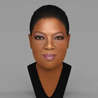 Small Oprah Winfrey bust ready for full color 3D printing 3D Printing 230879