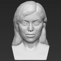 Small Kylie Jenner bust 3D printing ready stl obj 3D Printing 230920