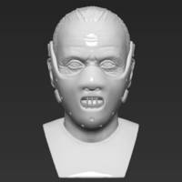 Small Hannibal Lecter bust 3D printing ready stl obj 3D Printing 230958