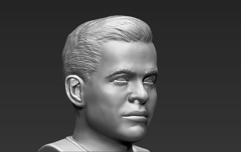 Captain Kirk Chris Pine Star Trek bust 3D printing ready stl obj 3D Print 231031