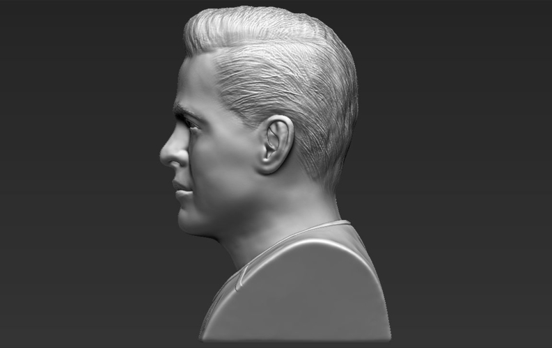 Captain Kirk Chris Pine Star Trek bust 3D printing ready stl obj 3D Print 231034