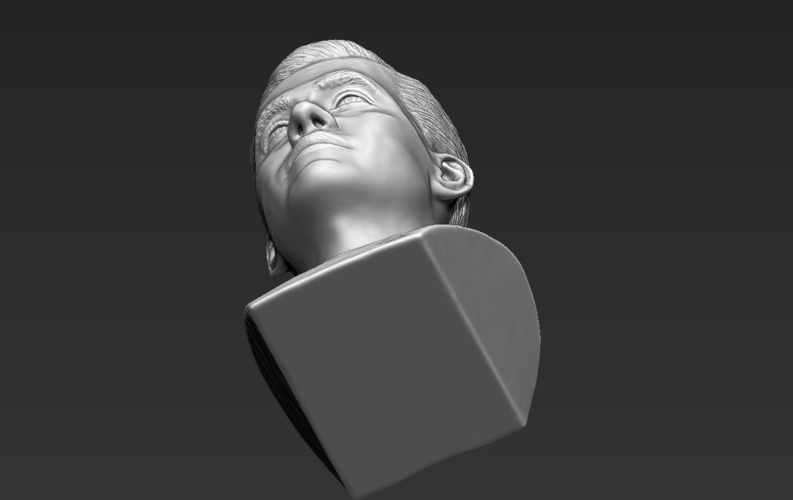 Captain Kirk Chris Pine Star Trek bust 3D printing ready stl obj 3D Print 231037