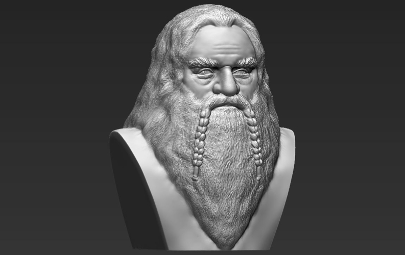 Gimli Lord of the Rings bust 3D printing ready stl obj 3D Print 231062